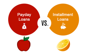 payday loan or installment loan