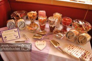 wedding sweetie table