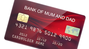 credit card bank of mum and dad