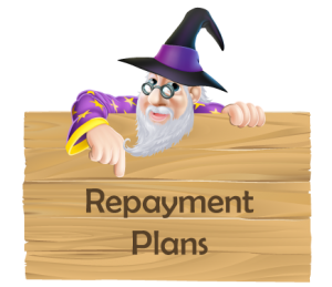 make a repayment plan