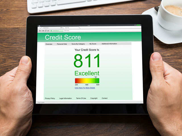 high credit file score